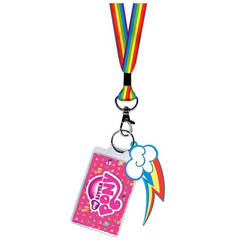 My Little Pony Rainbow Dash Cutie Mark Lanyard Key Chain