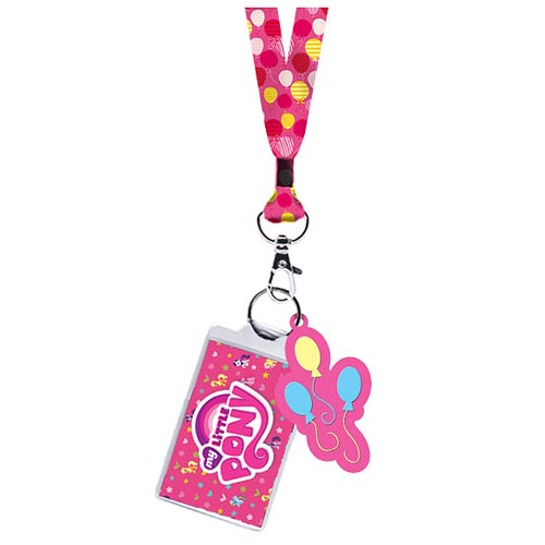 My Little Pony Pinkie Pie Cutie Mark Lanyard Key Chain