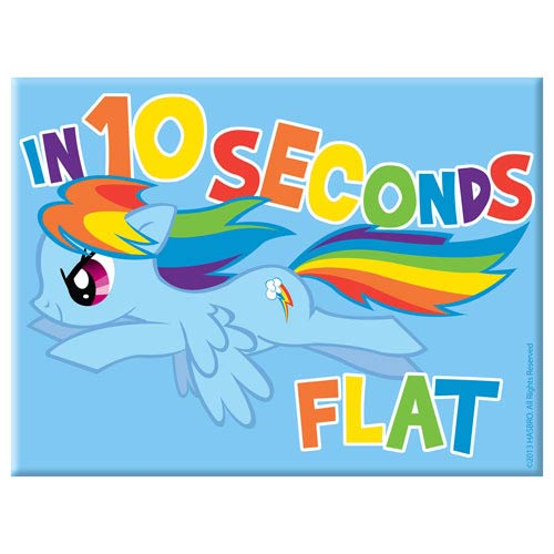 My Little Pony Rainbow Dash In 10 Seconds Flat Magnet