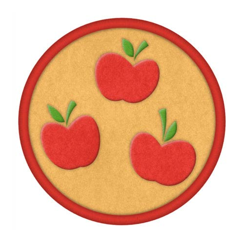 My Little Pony Apple Jack Cutie Mark Patch