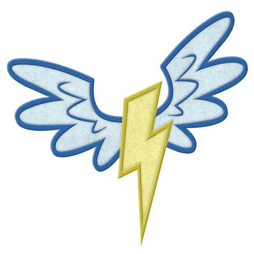 My Little Pony Wonderbolts Cutie Mark Patch