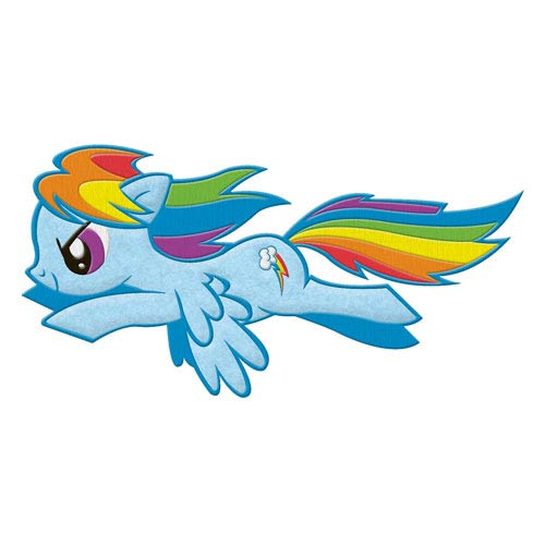 My Little Pony Rainbow Dash Flying Patch