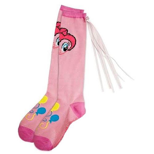 My Little Pony Pinkie Pie Knee Socks with Tail