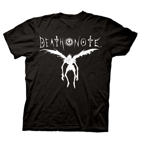 Death Note Ryuk Silhouette Black T-Shirt