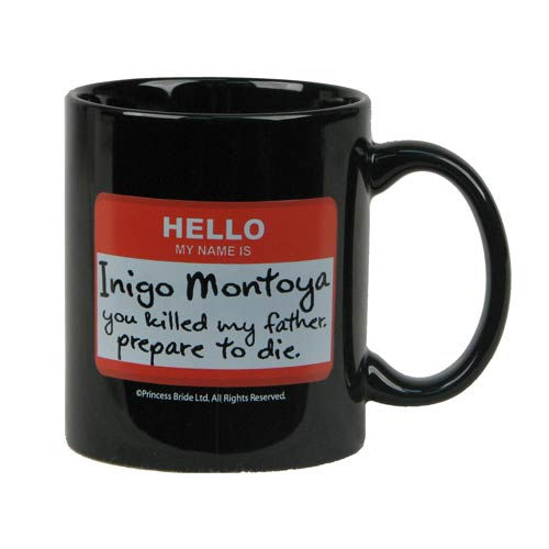 Princess Bride Nametag Mug