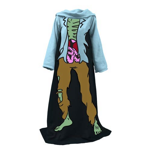 Zombie Be the Character Snuggler Blanket