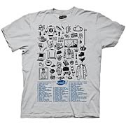 Seinfeld Fifty References T Shirt