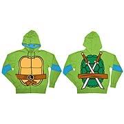 Teenage Mutant Ninja Turtles Leonardo Green Hoodie