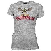 National Lampoon's Vacation Walley World Logo Junior T-Shirt