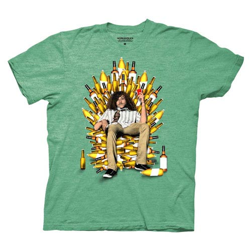 Workaholics Throne of Booze Green T-Shirt