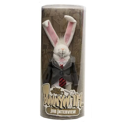 Bunnywith Job Interview Plush