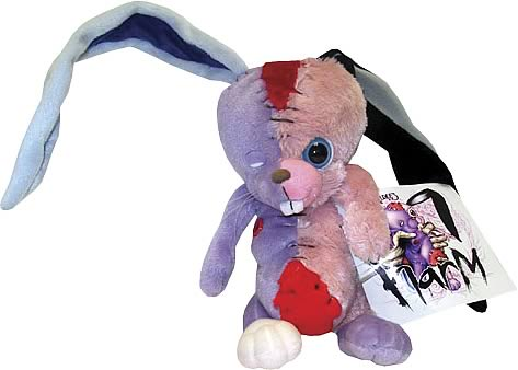 Alex Pardee Harm Pink & Purple Plush