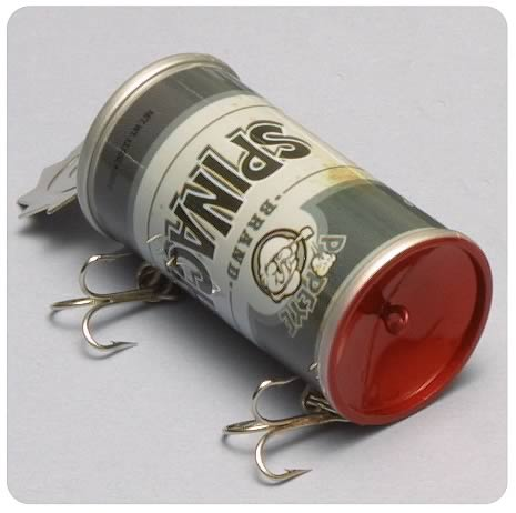 Popeye Spinach Can  (Vintage) Fishing Lure