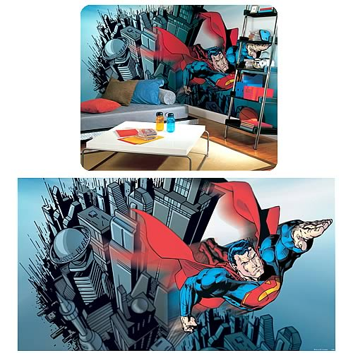 Superman Full Size Prepasted Mural