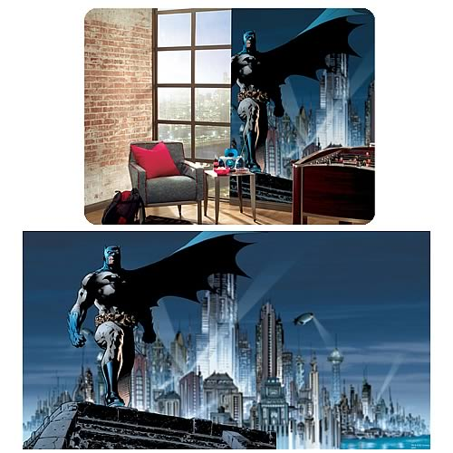 batman full size prepasted wall mural roommates batman waterfall landscape mural wallpaper natural scenery full