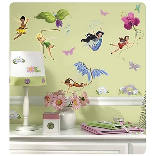 Disney Fairies Peel and Stick Wall Applique