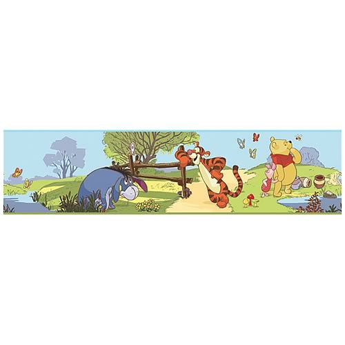 Winnie the Pooh and Friends Peel and Stick Border