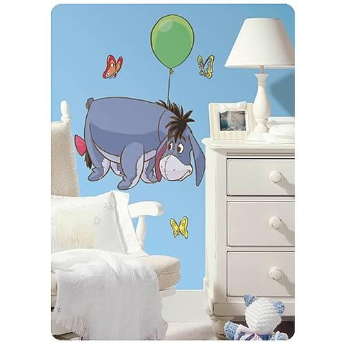 Winnie the Pooh Eeyore Peel and Stick Giant Wall Applique