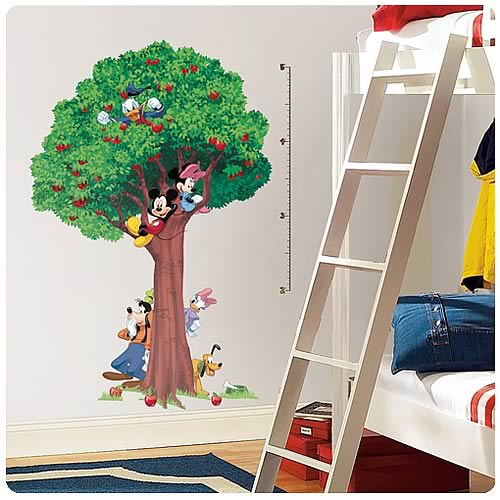 Disney Mickey and Friends Peel and Stick Growth Chart