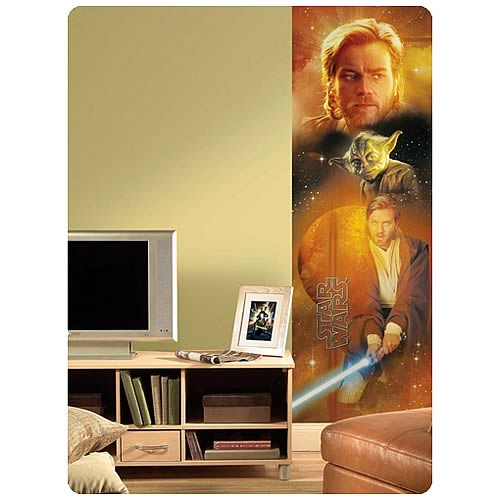 Star Wars Saga Obi-Wan Kenobi Peel and Stick Panel