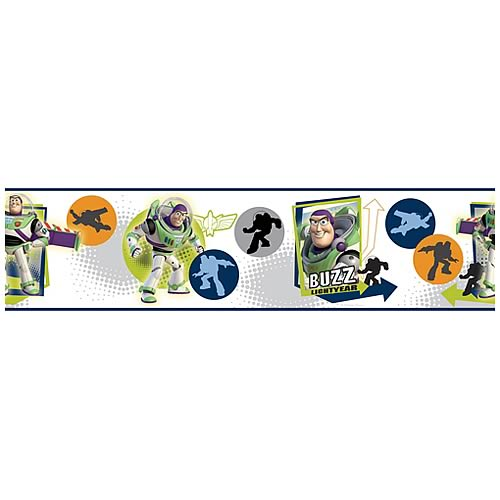 Toy Story Buzz Lightyear Peel and Stick Border