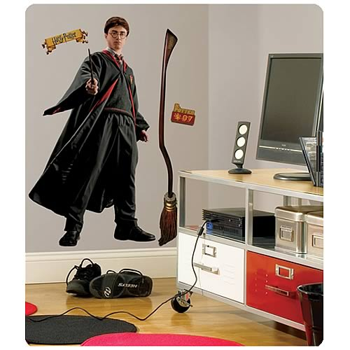 Harry Potter Peel and Stick Giant Wall Applique