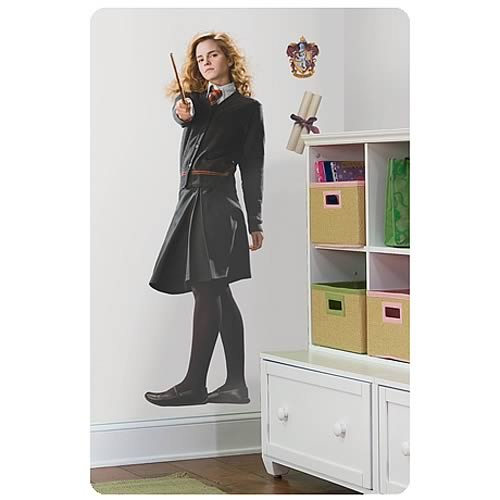 Harry Potter Hermione Peel and Stick Giant Wall Applique