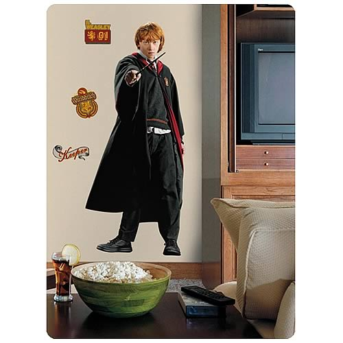 Harry Potter Ron Weasley Peel and Stick Giant Wall Applique