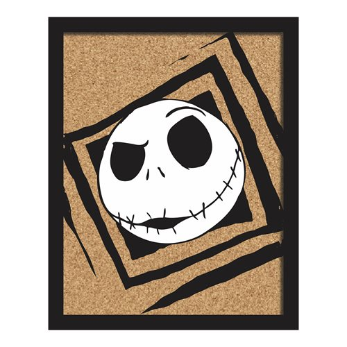Nightmare Before Christmas Jack Cork Wall Art