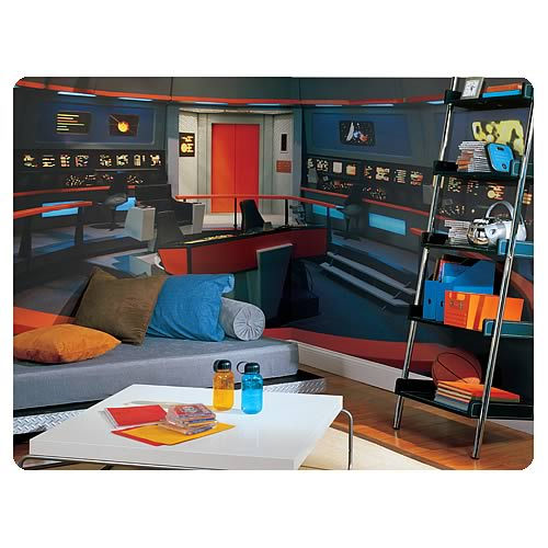 Star Trek Enterprise Bridge Full Size Wall Mural Part 7
