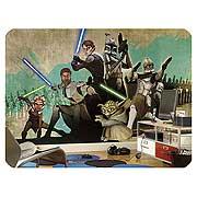 Star Wars Clone Wars Full Size Wall Mural