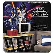 Star Wars Classic Chair Rail Wall Mural