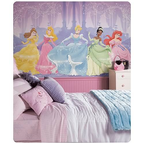 Disney_Princess_Chair_Rail_Prepasted_Wall_Mural