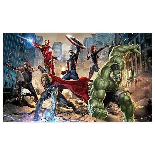 Avengers Full-Size Wall Mural