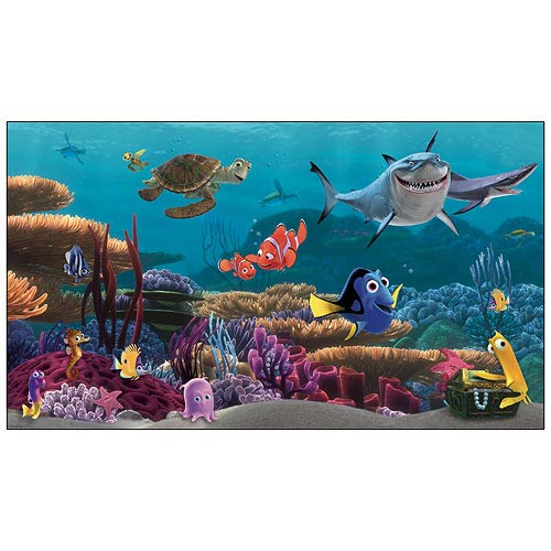 Finding Nemo Movie Ultra-Strippable Pre-Pasted Mural