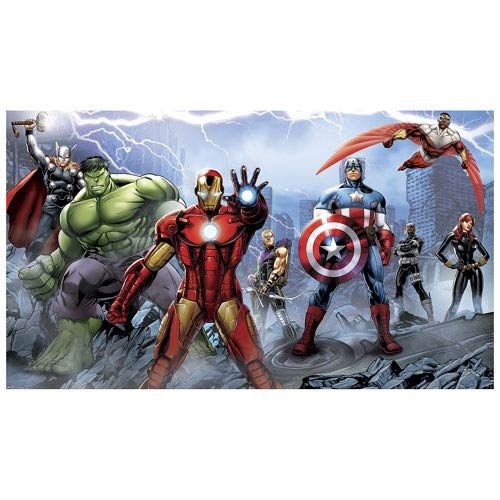 Avengers Assemble Full Wall Mural