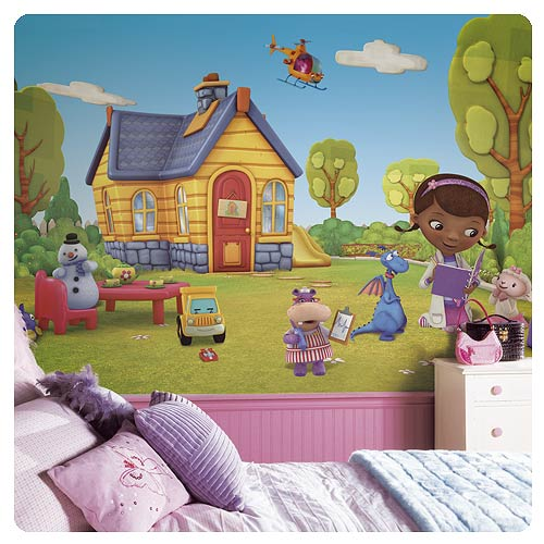 Doc McStuffins Full Wall Mural