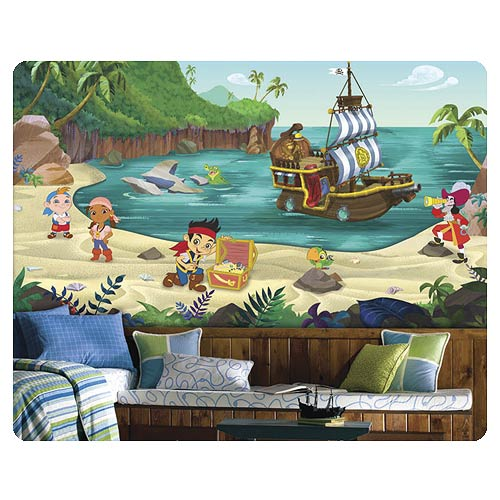 Jake and the Never Land Pirates Full Wall Mural
