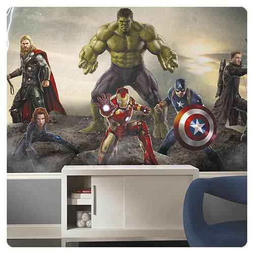 Avengers: Age of Ultron Ground Attack XL Prepasted Mural