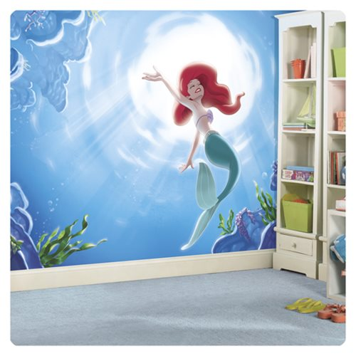 The_Little_Mermaid_Part_Of_Your_World_XL_Chair_Rail_Prepasted_Mural