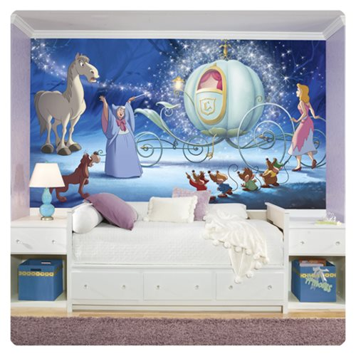 Cinderella_Carriage_XL_Chair_Rail_Prepasted_Mural