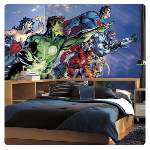 Justice_League_XL_Chair_Rail_Prepasted_Mural