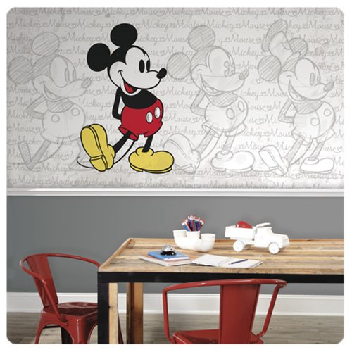 Mickey_Mouse_Classic_XL_Chair_Rail_Prepasted_Mural