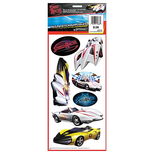 Speed Racer Peel and Stick Single Sheet