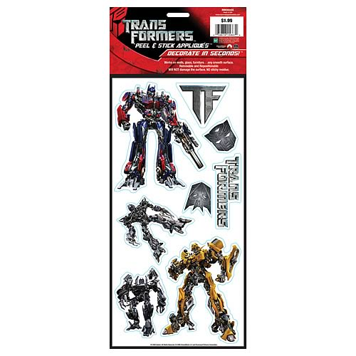 Transformers Peel and Stick Single Sheet