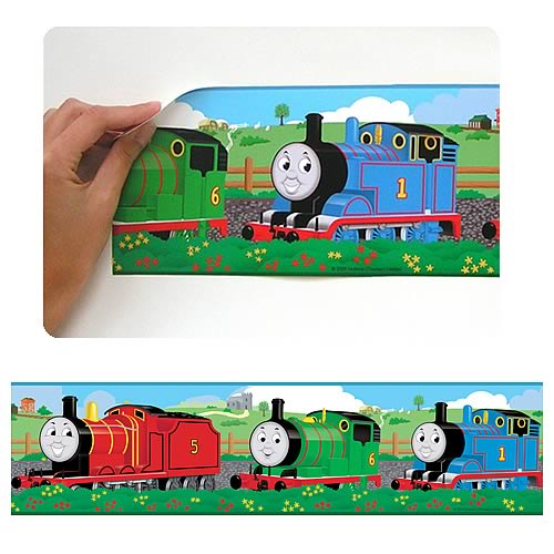 Thomas And Friends Peel And Stick Border Applique