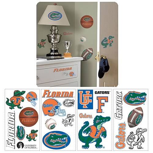 University Of Florida Peel and Stick Wall Applique