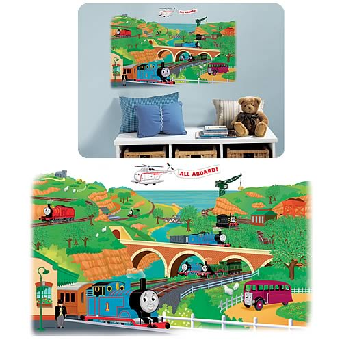 Thomas And Friends Peel And Stick Giant Mural Part 62