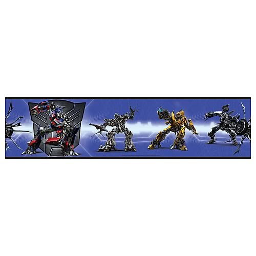 Transformers Peel and Stick Border Applique