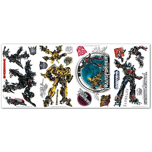 Transformers Dark of the Moon Wall Appliques